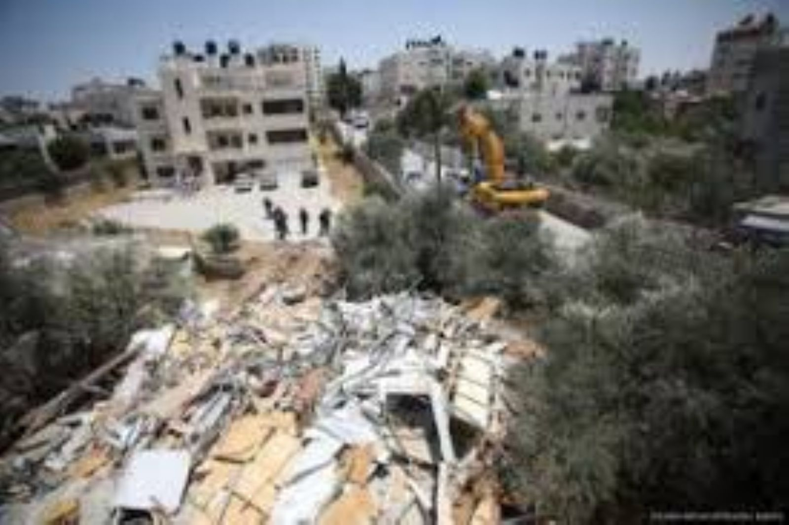Israel demolishes Palestinian property in Jerusalem